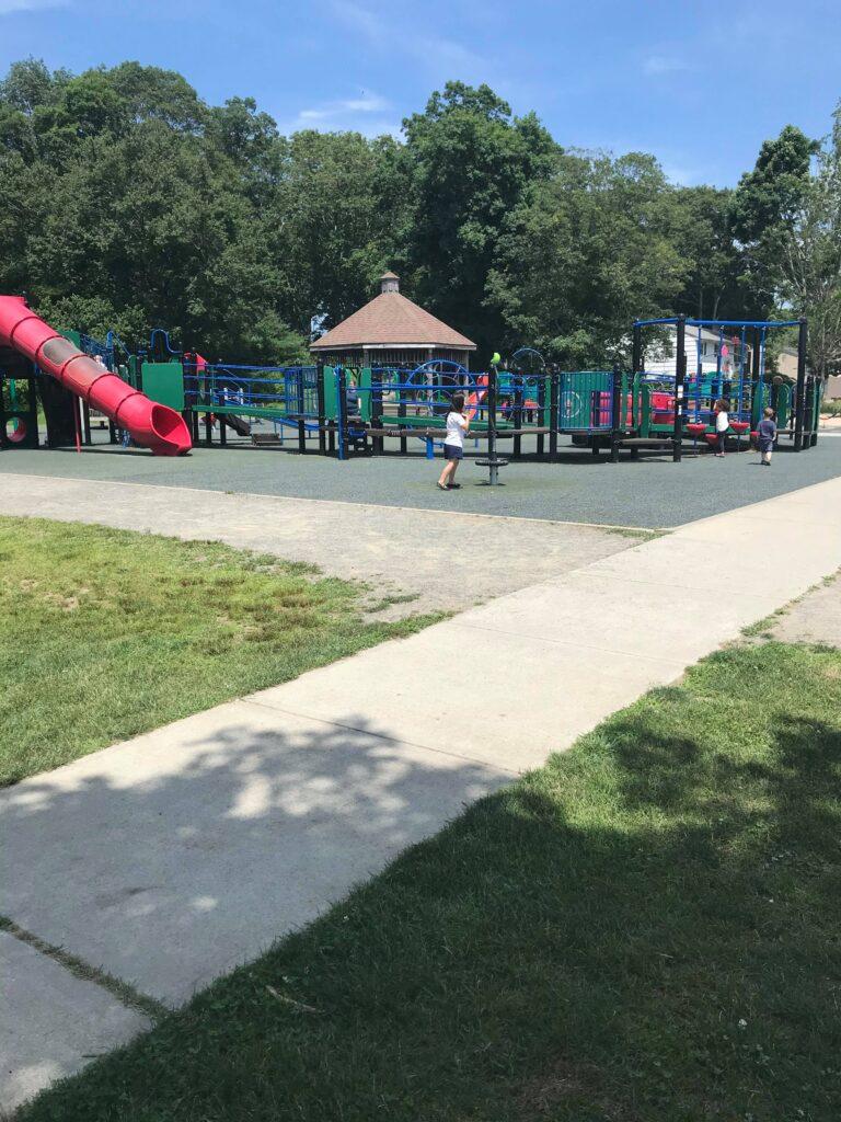 image of Tercentennial Legacy Playground in groton ct.