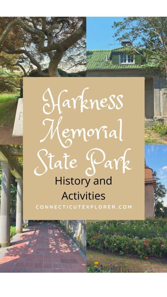 Harkness memorial state park pin.
