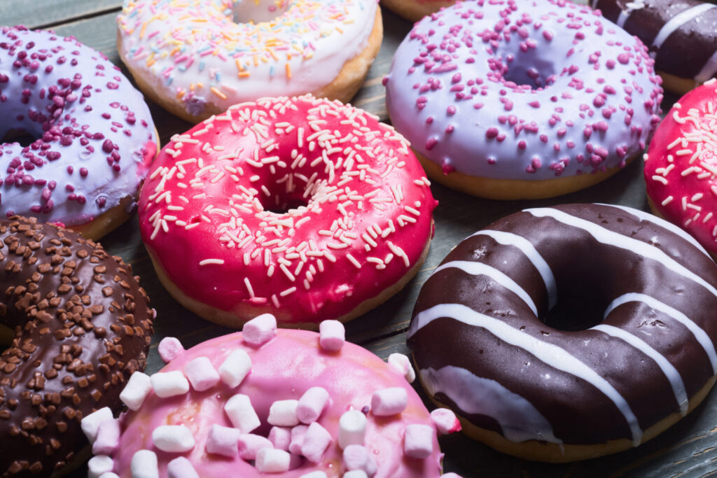 image of donuts in Connecticut.