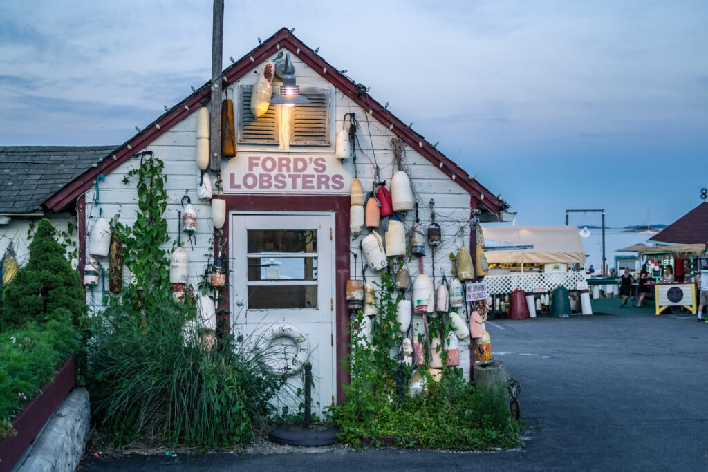 image of lobster shack, one of the things connecticut is known for.