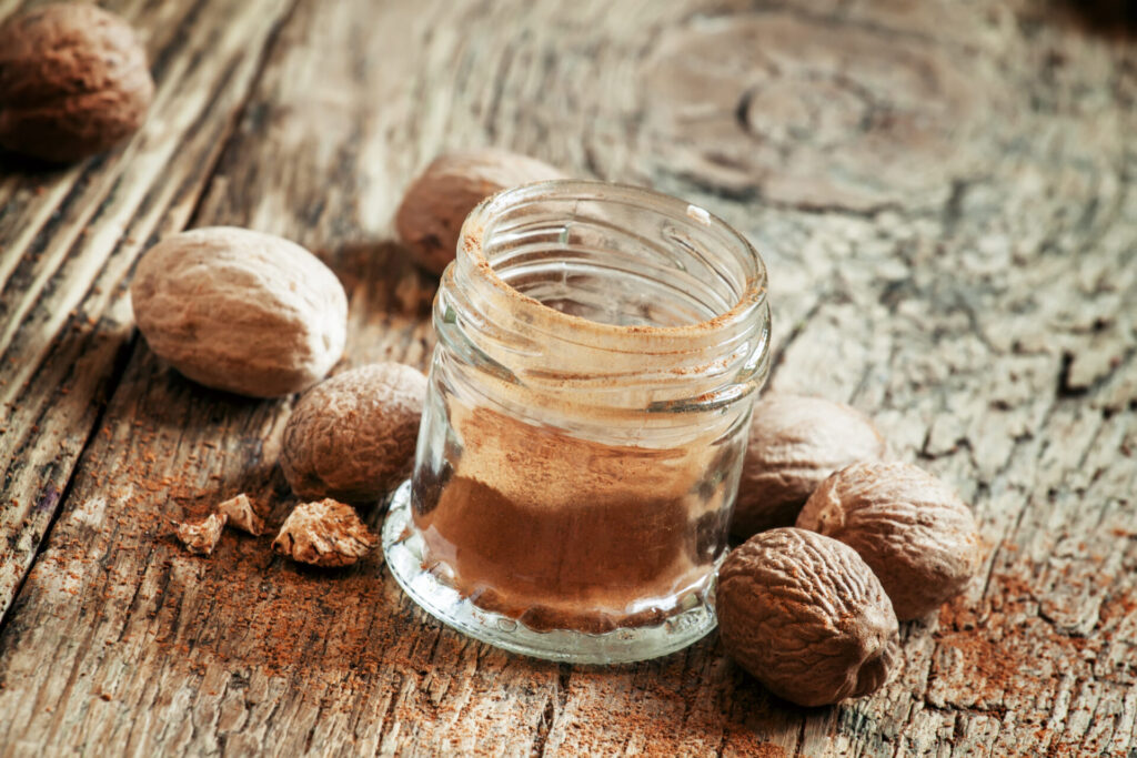 image of nutmeg since people in connecticut are called nutmeggers.